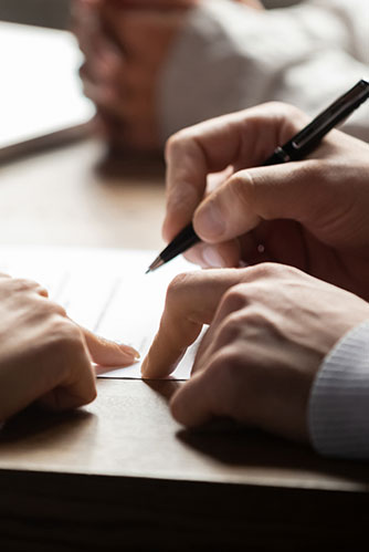 signature acte d'avocat